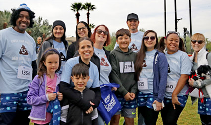 Image of the CRCAZ Team at the 2019 Undy Run Walk